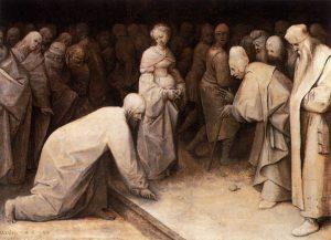 Co Jezus pisał po ziemi? (artykuł)